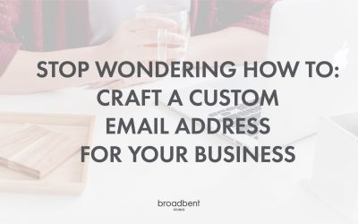 Stop Wondering How To: Craft a Custom Email Address for your Business