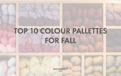 Top 10 Colour Palettes for Fall